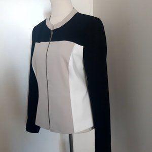 M&S Colour Block Jacket - Size 12